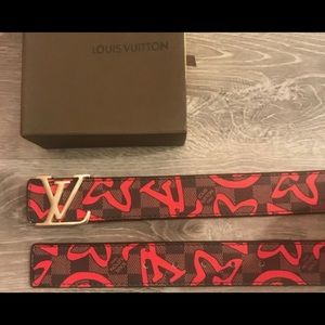 Designer belt Lv exclusive